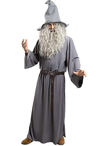 Funidelia | Disfraz de Gandalf - El Seor de los Anillos Oficial para Hombre Talla M El Seor de los Anillos, Pelculas & Series, El Hobbit, Magos - Multicolor