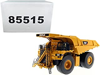 StarSun Depot CAT Caterpillar 795F AC Electric Drive Mining Truck with Operator High Line Series 1/50 Model by Masters