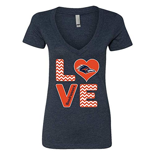 FanPrint UTSA Roadrunners T-Shirt - Stacked Love - Women