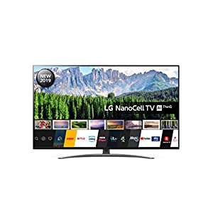 LG Electronics 55SM8600PLA 55 Inch UHD 4K HDR Smart NanoCell LED TV with Freeview Play - Dark Steel Silver (2019 Model)