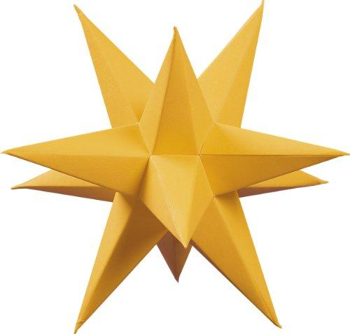Unbekannt Saico AS5004/EF8 Marienberger Adventsstern, 3-Sterne-Set in Gold