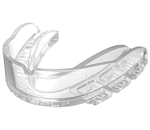 Makura Zahnschutz Kyro Pro Senior Mundschutz, Kampfsport Frei von Latex,BPA & Formamid Farbe transparent