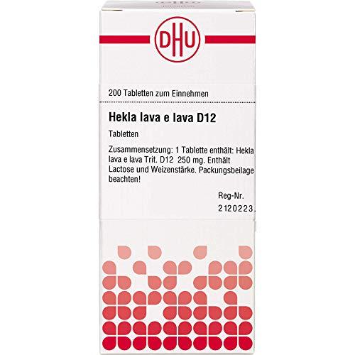 DHU Hekla lava e lava D12 Tabletten, 200 St. Tabletten