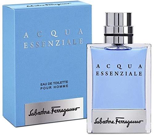 Salvatore Ferragamo Acqua Essenziale Eau De Toilette Spray For Men 100Ml/3.4Oz