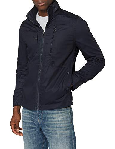 G-STAR RAW Powel Dc Overshirt L/s Giacca, Blu (Mazarine Blue 4213), Large Uomo