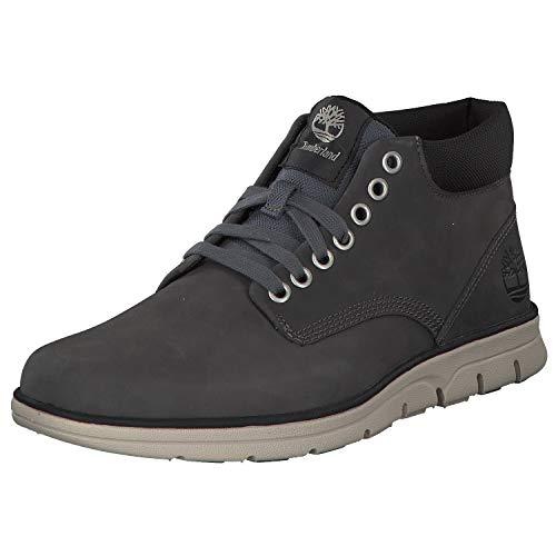 Timberland Bradstreet Leather Sensorflex, Stivali Chukka Uomo, Grigio (Pewter Saddleback 060), 45 EU