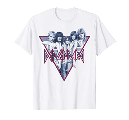 Def Leppard 80s Band Photo T-shirt, for men or women, S to 3XL