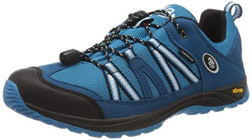 Bruetting Ohio Low, Chaussures de Randonnée Basses, Bleu (Blau/Weiss Blau/Weiss), 35 EU