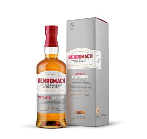 Benromach Peat Smoke Speyside Single Malt Whisky 2009 in Geschenkpackung Scotch Whisky (1 x 0.7 l)