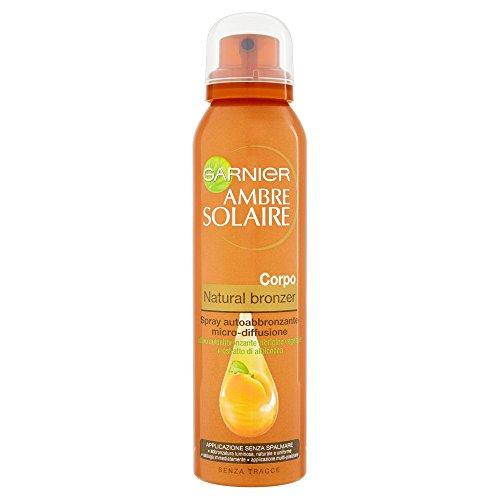 Garnier Ambre Solaire Natural Selbstbräuner-Spray, Mikrodiffusion
