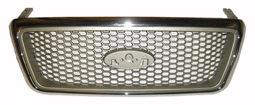 Sherman Replacement Part Compatible with Ford F-150 Grille Assembly (Partslink Number FO1200427)