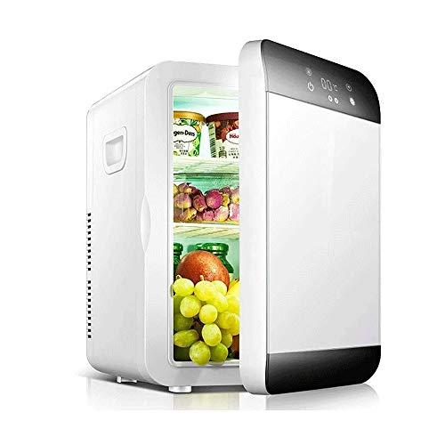 JNWEIYU 20L Großvolumige Auto Kühlschrank, Dual-Use-Auto-Kühl Box for Heimschlafsaal und Auto-Haus, Heizen und Kühlen, Verringerung Bass-Geräusch
