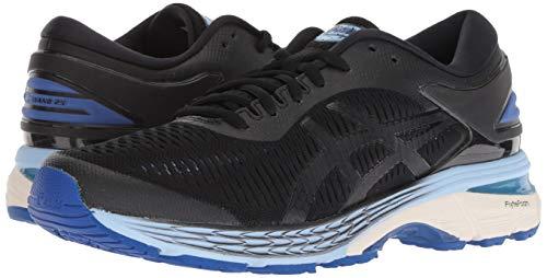 ASICS Women's Gel-Kayano 25 Running Shoes, 11.5, Black/ASICS Blue