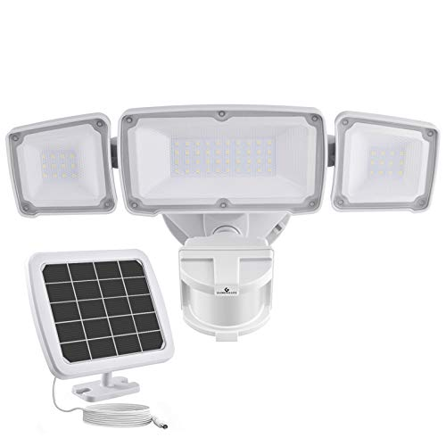 GLORIOUS-LITE Solar Security Light Outdoor,...