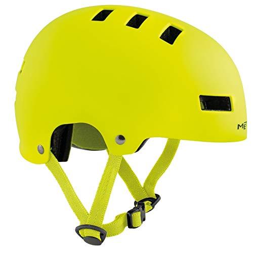 MET Jugendhelm YoYo Safety Yellow M 54 - 57 cm, neon gelb