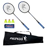 Best Badminton Shuttlecocks - Hipkoo Sports HXBRSET_BL Grab Badminton Set with 3 Review