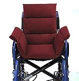 Ouding Confortable Coussin pour Fauteuil Roulant Chaise de Bureau Chaises de Salle à...