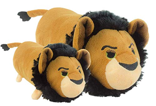 Disney Tsum Scar Squeak Dog Toy, Medium, 8.5-Inch