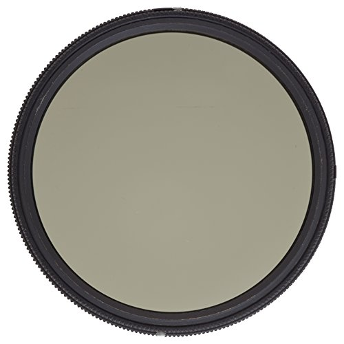 Heliopan 67mm Variable Gray Neutral Density Filter (706790) with specialty Schott glass in floating brass ring