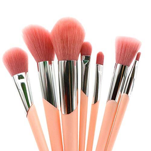 Pinceaux de maquillage Professional Fondation synthétique Correcteur de poudre Contour Ombres à paupières Mélange Visage Blow Lip Blush Brosse à maquillage XXYHYQ (Color : Blanc, Size : Libre)