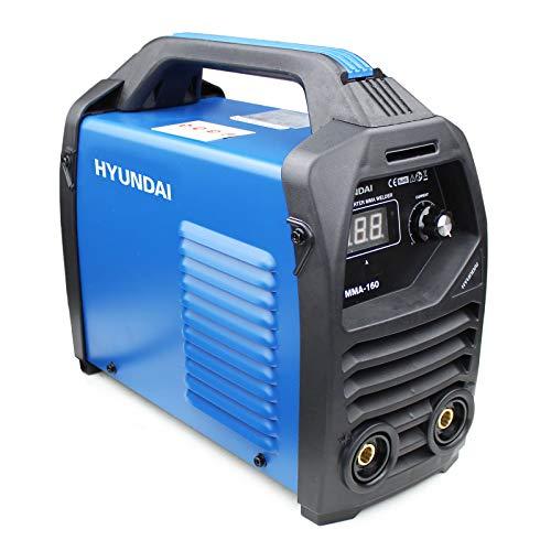 HYUNDAI HYMMA-160 Inverter Stick Welder DC Arc MMA Portable 160A 16 Amp Plug HYMMA160, 230 V