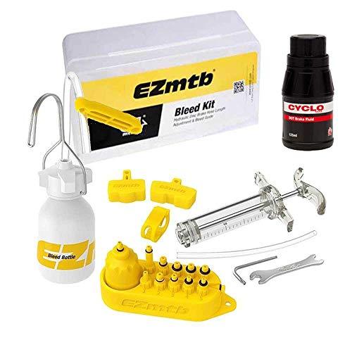 Avid kit de purge de frein professionnel pour Juicy 3 4 5 7 Élixir Plus Fluide à pois