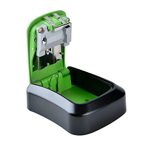 Homyl Schlüssel Schlüsselsafe Schlüsseltresor Schlüsselkasten Safe Schrank für Außen - 2# Grün