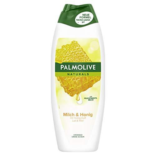 Palmolive Naturals Honig und Feuchtigkeitsmilch Cremebad, 1er Pack (1 x 650 ml)