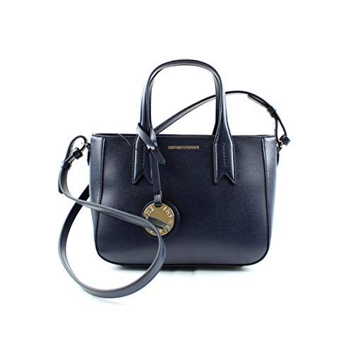 Emporio Armani Shoppers y Bolsos de Hombro Para Mujer, Color Azul, Marca, Modelo Shoppers Y Bolsos De Hombro Para Mujer Tote Bag Azul