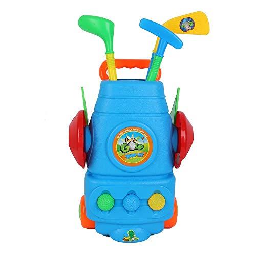 MiOYOOW Mini-Golf-Set, Kinder Golf Spielzeug Mini Golf Outdoor Sport Spielzeug Garten Golf Set für Kleinkinder Kinder Babys