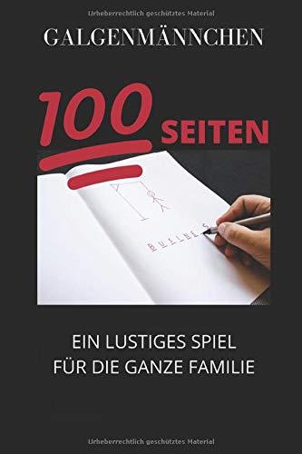 Galgenmännchen-Hangman: Galgenmännchen Spiel Buchstabenspiele Für Euren Spieleabend -das lustige Spiel für die ganze Familie