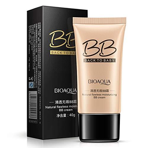 1PC Pro Makeup Magic Bb Cream Make-up Designer BB Cream Nude Magique Fondo de maquillaje Skin Active BB Cream Perfeccionador Prodigioso Pieles Mixtas a Grasas (Beige natural)