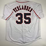 Unsigned Justin Verlander Houston White Custom Stitched Baseball Jersey Size Men's XL New No Brands/Logos