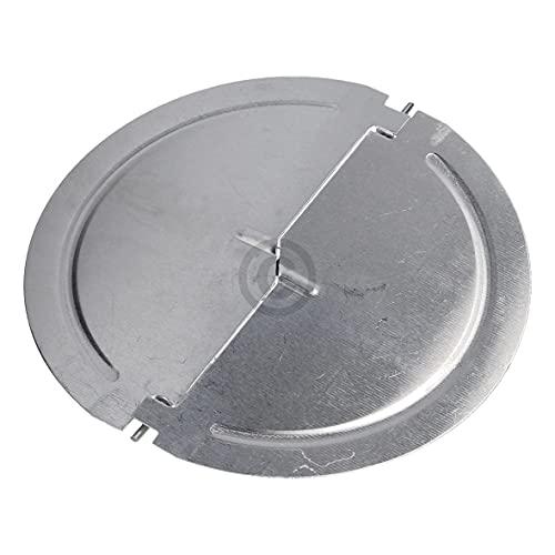 Rückstauklappe für 125er Abluftrohr kompatibel mit BOSCH 00265171 an Dunstabzugshaube