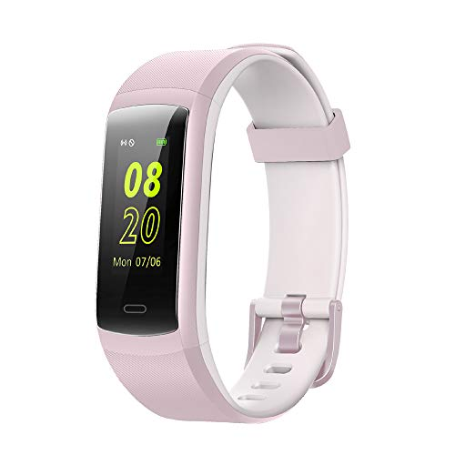 Willful Fitness Trackers,Waterproof IP68 Fitness Tracker Watch Color Screen Fitness Watch with Heart Rate Monitor Smart Watch Pedometer Watch Step Counter Sleep Monitor Calorie Counter for Women Men