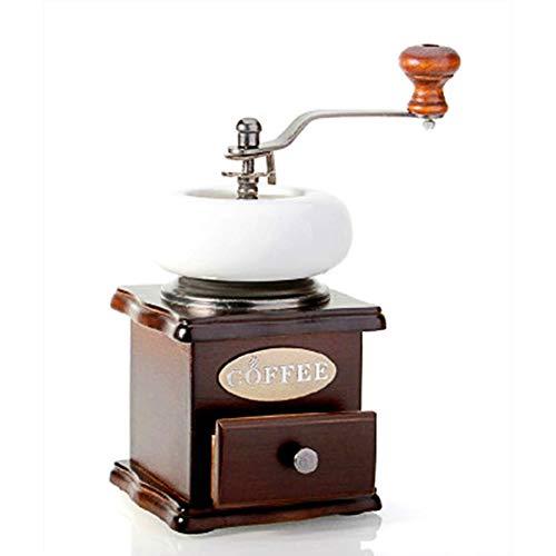SYSP maalgraden-instelfunctie, handmatige espressomolen in chique retro-design, koffiemolen