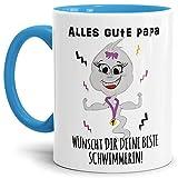 Lustige Tasse mit Spruch für Papa - Beste Schwimmerin - Super-Spermium/Bestes...