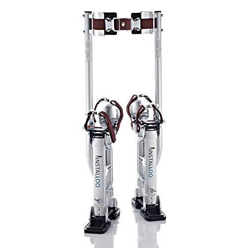 Installoo® Zancos de trabajo • para yeseros jardineros o para pintar • de aluminio • ajustables M (Consumer-Line)