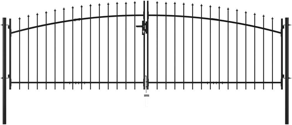 Mesa Mall Outdoor Garden Gate Lawn Barrier Metal Stockade Albuquerque Mall C Fencing