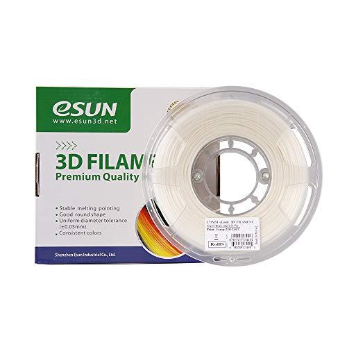 Aibecy eSUN Elastische TPE 85A 1.75mm Flexibele 3D Printer Filament Natuurlijke Wit Materiaal Vullingen 1 kg (2.2lbs) Spool Verbruiksgoederen