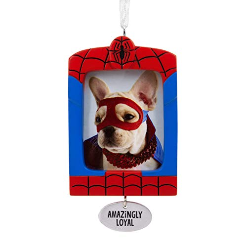Hallmark Christmas Ornaments, Marvel Spider-Man Pet Picture Frame Ornament