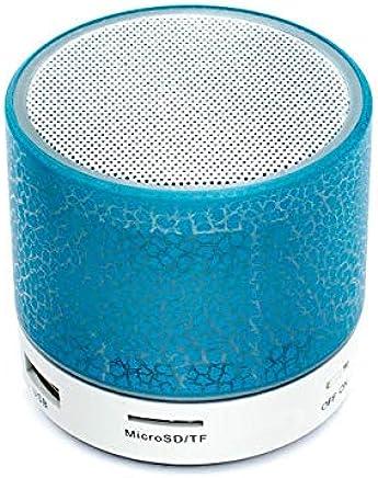 Sago A9 Bluetooth Altoparlante Mini Altoparlante Wireless Crack LED Tf USB Subwoofer Bluetooth Altoparlante Mp3 Stereo Audio Music Player Azzurro - Trova i prezzi più bassi