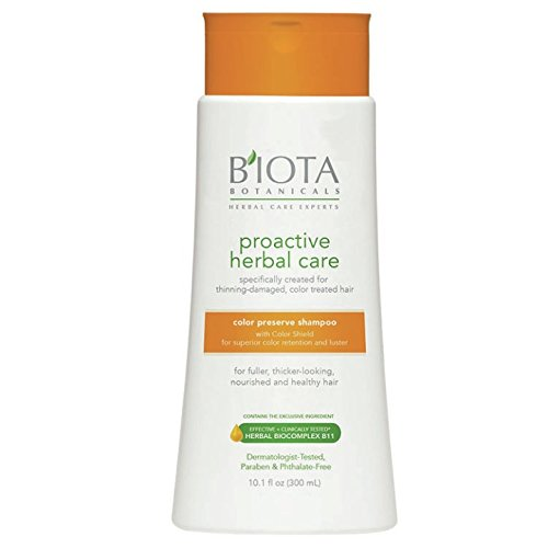 BIOTA Botanicals Proactive Herbal care color preserve shampoo (Packaging may Vary)
