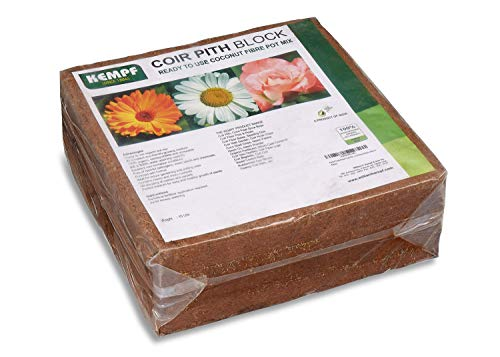 Kempf Compressed Coco Fiber Growing Medium 10 Lbs. Block