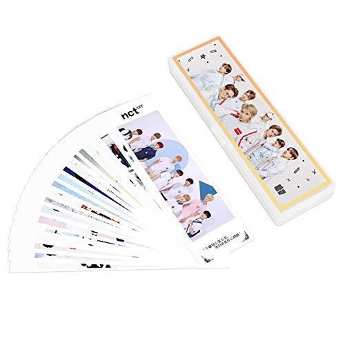 GOTH Perhk Kpop GOT7 NCT Geschenkset, 20 Lesezeichen + 24 Aufkleber + 1 Federmppchen, schnes Geschenk fr Army Kinder, GOT7 NCT Fans NCT127