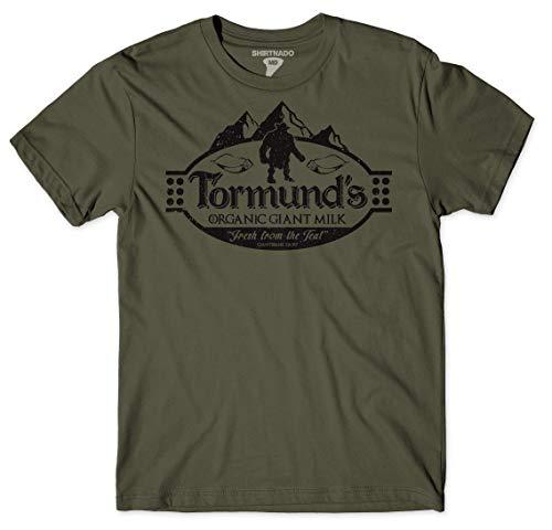 Shirtnado Tormund's Goat Milk Military Green