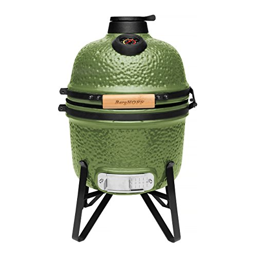 Berghoff Ceramic BBQ and Oven, Olive Green, 41 x 36 x 57 cm