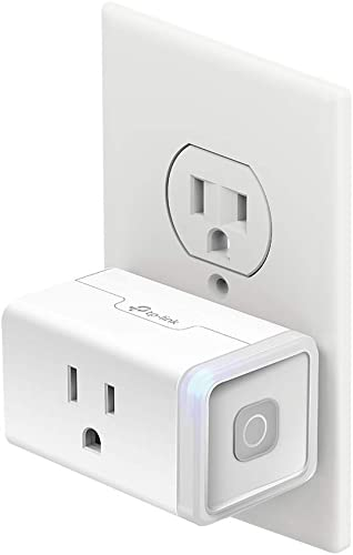 Kasa Smart Plug by TP-Link Smart Home Wi-Fi Outlet Works with Alexa Echo Google Home & IFTTT No Hub Required Remote Control 15 Amp UL Certified 1-Pack(HS103)  WHITE