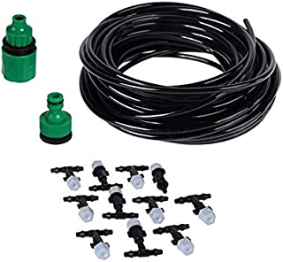 Garden Sprinklers - DIY Drip Irrigation System Automatic Watering Garden Hose Micro Drip Watering Kits With Adjustable Dri...