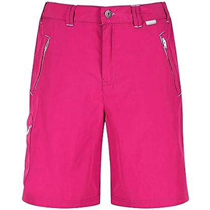 Regatta Women's Chaska Lightweight Water Repellent Uv Protection Active Hiking Shorts 8